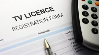 TV Licence form