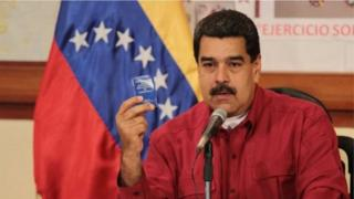 Madaxweyne Nicolas Maduro