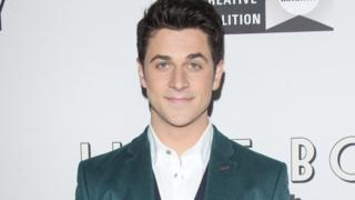 David Henrie arrives at the Los Angeles premiere of 'Little Boy' held at Regal Cinemas in 2015