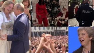 Танцуют (Владимир Путин, Мишель Обама, полицейский в Бремене, толпа в Тбилиси, Тереза Мэй)