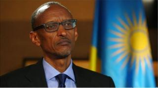 Rais Paul Kagame wa Rwanda