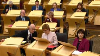 SNP front bench