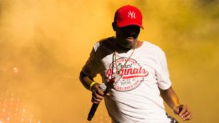 Kwaito star Thebe at Afropunk Johannesburg