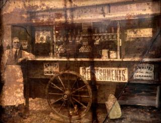 Coffee stall in 1920