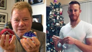 William Shatner and Adam Rooney