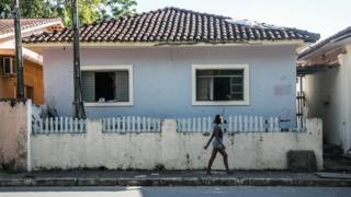 Casa em que Bolsonaro morou em Eldorado