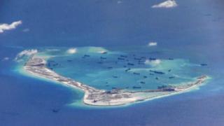 спорные острова в Южно-Китайском море