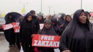 """Shia """"Free Zakzaky"""" Protest"""
