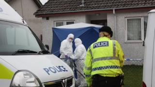 Murder investigation in Inverness