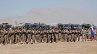 رزمایش مشترک کشورهای عضو سازمان پیمان امنیت دسته جمعی در تاجیکستان