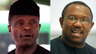 Yemi Osinbajo and Peter Obi