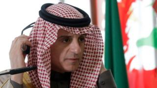 सऊदी अरब के विदेश मंत्री अदल अल जुबैर