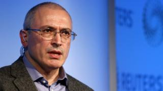 Former Russian oil tycoon Mikhail Khodorkovsky