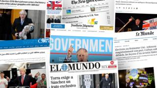 General election 2019: World media weigh the price of Johnson's win