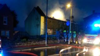 Dumfries restaurant fire