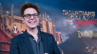 (캡션) 다시 '가디언즈 오브 더 갤럭시 3'의 메가폰을 잡는 제임스 건 감독