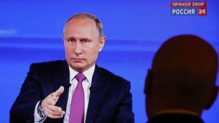 """Трансляция """"Прямой линии"""" Владимира Путина"""