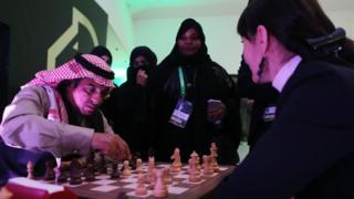 Suudi Arabistan'da satranç şampiyonası