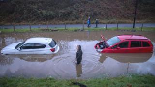 Flooding in Bristol, Nov 2016