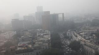 Смог в Дели