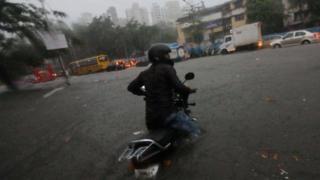 ممبئی بارش