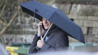 Martin Harris outside Hove Crown Court