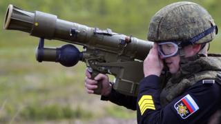 солдат с ПЗРК