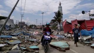 عمت مشاهد الدمار مجمل المدينة المنكوبة