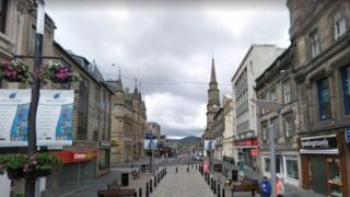 Inverness city centre