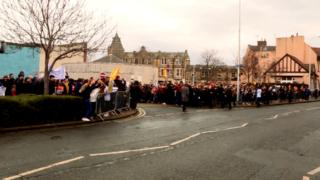 Protestors against plans to cut music tuition gather in Midlothian