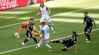 Iceland score