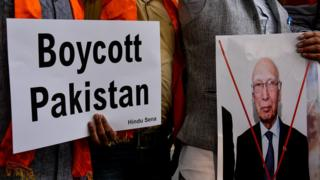 پاکستان کے خلاف احتجاج