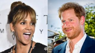 Halle Berry and Prince Harry