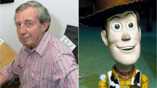 Bud Luckey and Woody from Toy Story