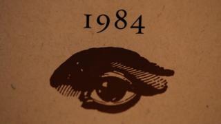 """Portada del libro """"1984""""."""