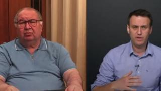 Алишер Усмонов ва Алексей Навальний