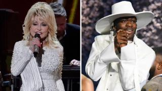 Dolly Parton and Lil Nas X