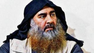 Former IS leader Abu Bakr al-Baghdadi (pictured) was killed in a US raid in Idlib province in October