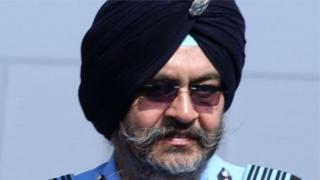 भारतीय वायुसेना प्रमुख बीएस धनोआ