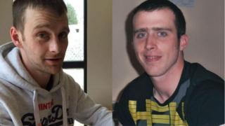 Chris Moireasdan agus Martin Johnstone