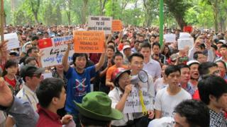 Quyền biểu tình được cho là một khía cạnh của dân chủ