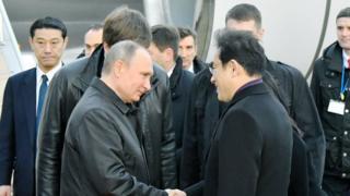 Путин прибывает в Японию