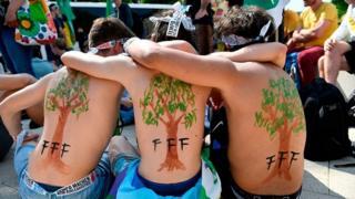 اعتراض به تغییرات اقلیم صدها هزار 'نوجوان سبز' را به خیابان آورد