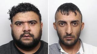 Majid Malik (left) and Kaiz Mahmood