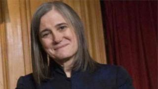 Amerika'da yayınlanan 'Demokrasi Şimdi' programının yapımcı ve sunucusu Amy Goodman