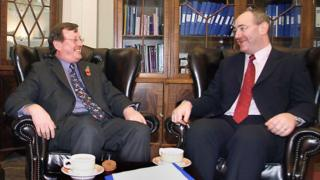 David Trimble and Mark Durkan