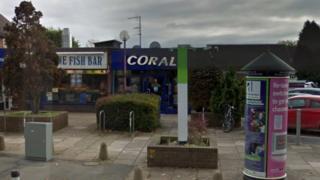 Coral shop in Shrewsbury