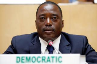 Demokratik Kongo Cumhuriyeti Başkanı Joseph Kabila