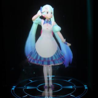 Miku'nun hologramı