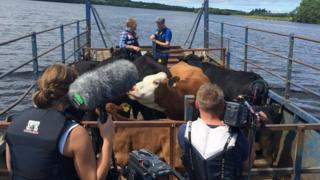 BBC programme Countryfile has been filming on Lough Erne